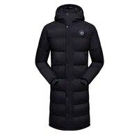 2020 Winter Men Long Cotton Jackets Long Coats Long Men High Quality Casual Fashion Jacket Men Windbreaker Jacket