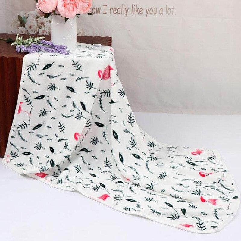 Одеяло для новорожденных, хлопковое зимнее детское Пеленальное Одеяло 73*100 см, мягкое зимнее одеяло для новорожденных - Цвет: Color 2