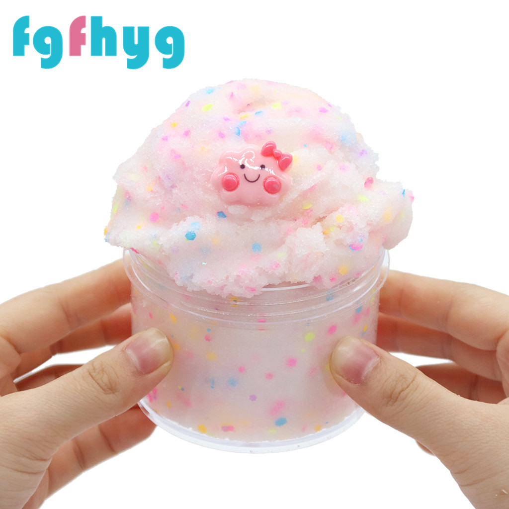 The Toys Slime 2019Top Hot Glow In The Dark DIY Could Slime Scented Soft& Non-Sticky Stress Relief Toy Giocattoli