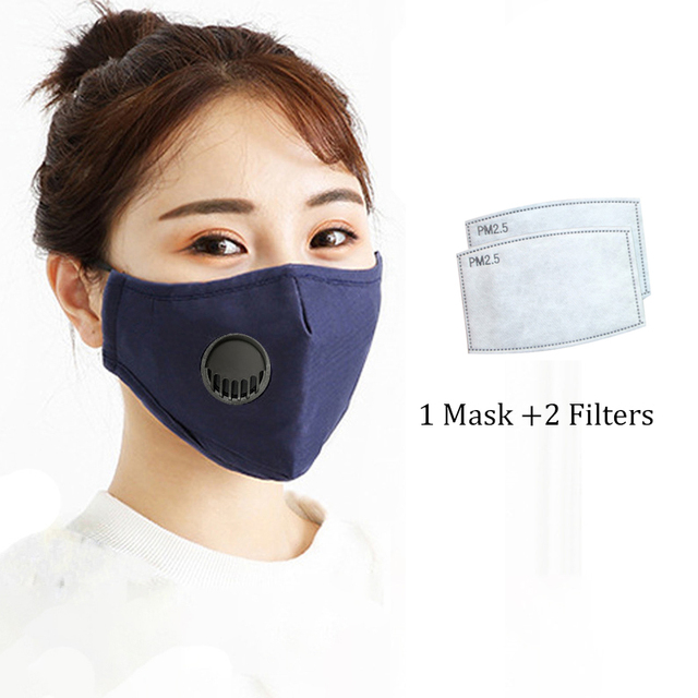 Motorcycle Face Mask PM2.5 Face Masks Anti Dust Windproof Anti Bacteria Flu Mask Winter Face Mask 1