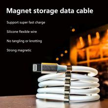 The magnetic absorption nano cable is suitable Android type-c for Huawei Xiaomi magic rope magnetic suction charging cable недорого