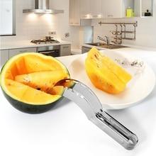 20.3*2.6CM Stainless Steel Watermelon Slicer Cutter Knife Corer Fruit Vegetable Tools Kitchen Gadgets stainless steel watermelon slicer knife fruit cuter