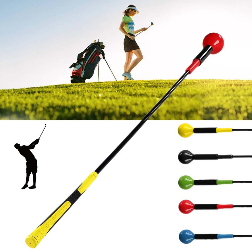 120cm Golf Training Aids Swing Trainer Golf Trainer Power Equipment Golf Accessories Drop Ship