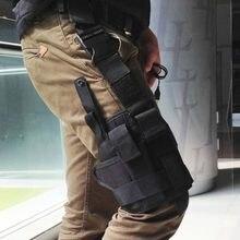 Étui pour pistolet, Putter tactique réglable, épaule de cuisse, pochette enveloppante de Camping, accessoires de chasse en plein air, 5 couleurs