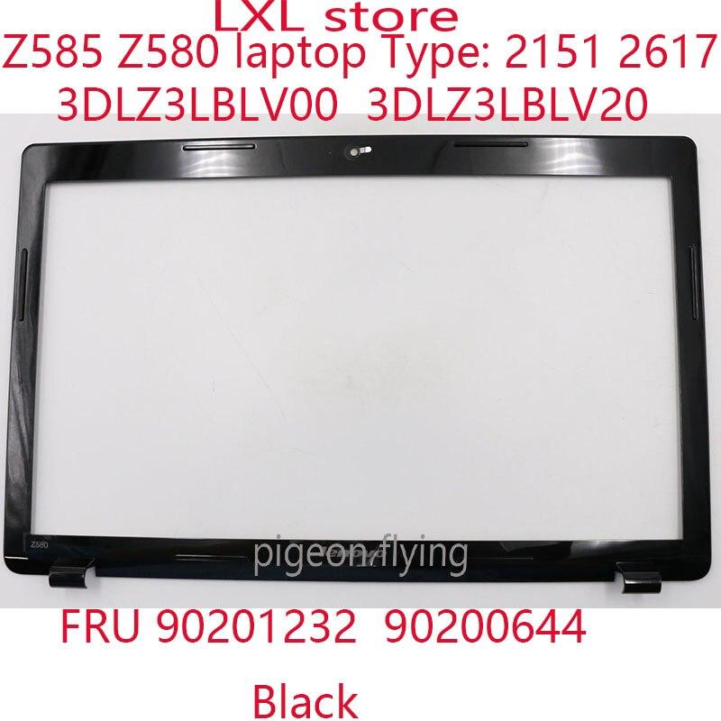 Z585 Z580 ЖК-дисплей рамка для ideapad ноутбук 2151 2617 PN 90201232 90200644 3DLZ3LBLV00 3DLZ3LBLV20 черный 100% новый ok