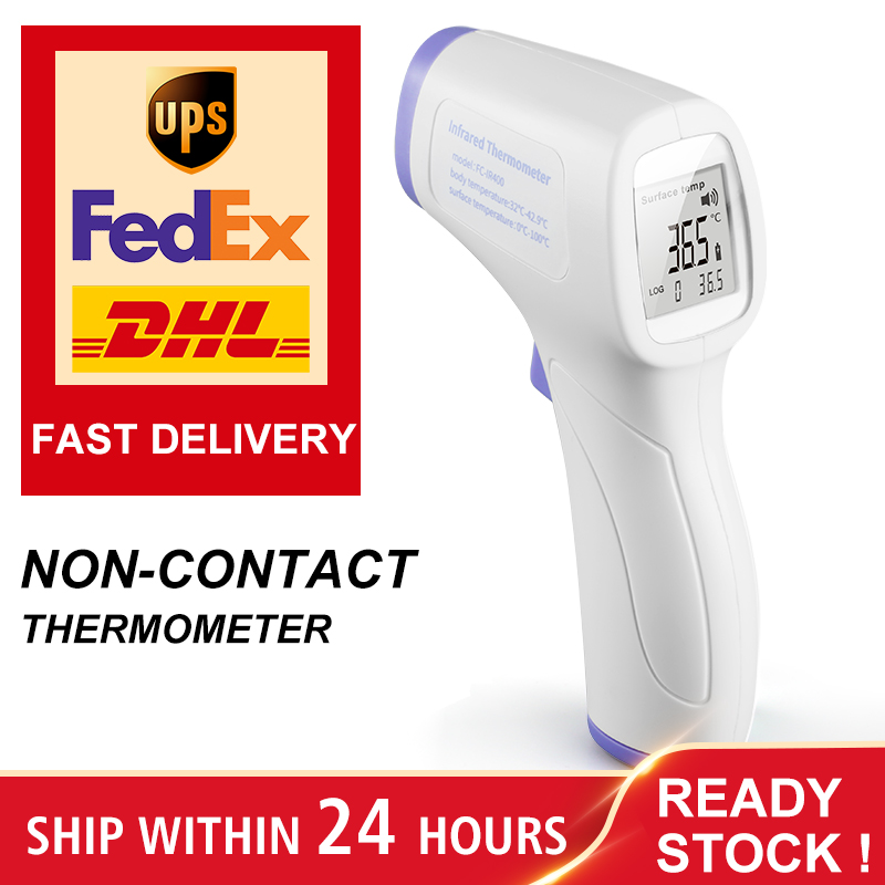 Digital Infrared Thermometer Temperature Measurement Non-contact Forehead Muti-fuction Infrared Thermometer For Kids Adults CE