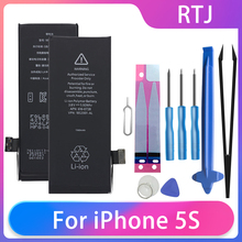 Cell-Phone-Batteries Battery iPhone 5s Replacement Free-Tools Runtianjin for 1560mah