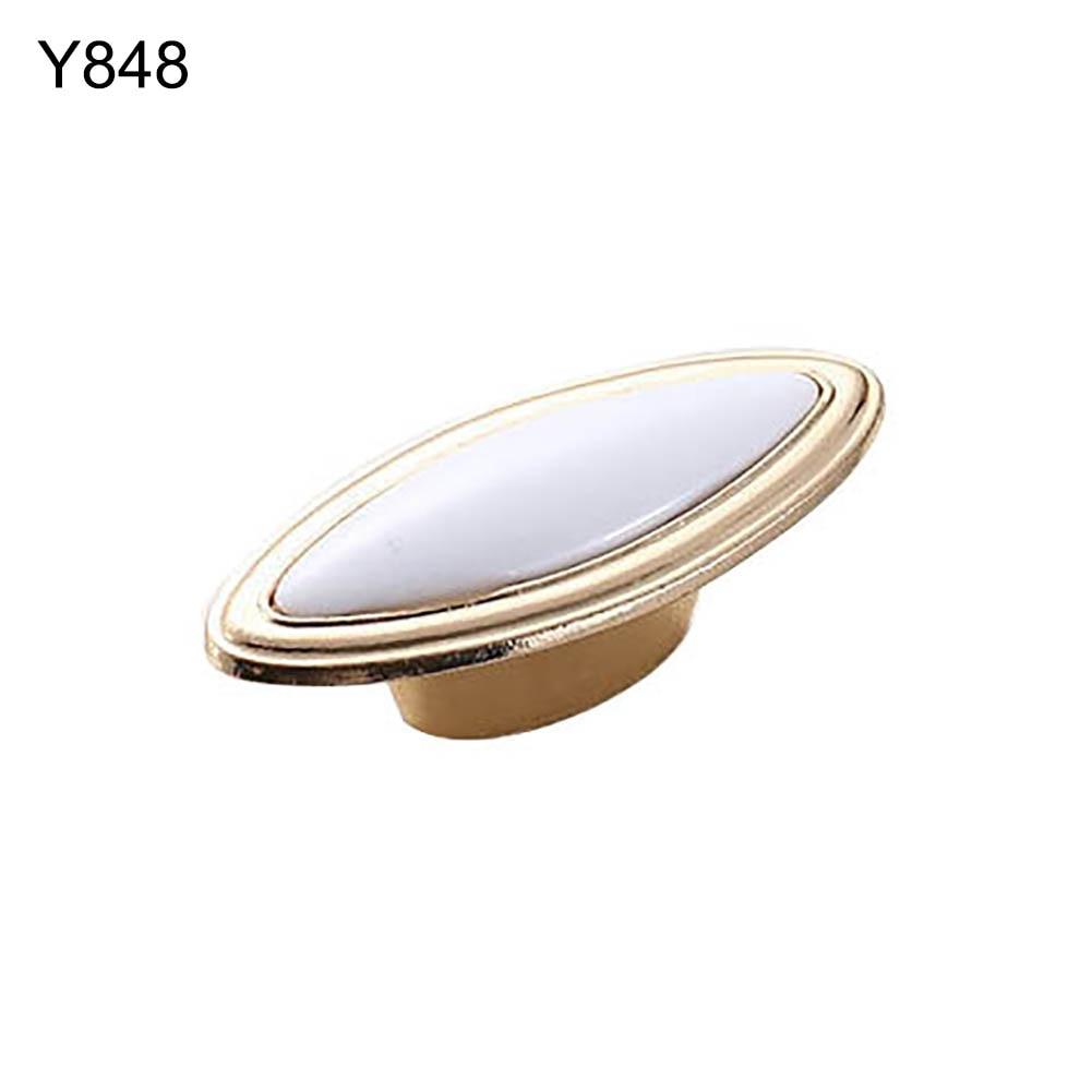 Европейский стиль металлический шкафчик с ящиками шкаф дверная ручка Алмазная форма кристальная стеклянная ручка оборудование для обработки мебели домашний декор - Цвет: Y848