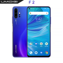 "UMIDIGI F2 глобальная версия Android 10 6,53 ""FHD + 6 ГБ 128 ГБ 32MP Selfie Helio P70 48MP AI Quad Camera мобильный телефон 5150mAh NFC(Китай)"
