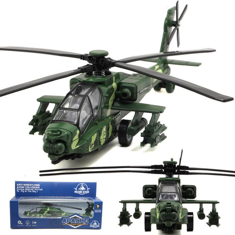 26CM 1/32 Scale China Air Force Helicopter Millitary Model Army Fighter Aircraft Airplane Models Adult Children Toys Military