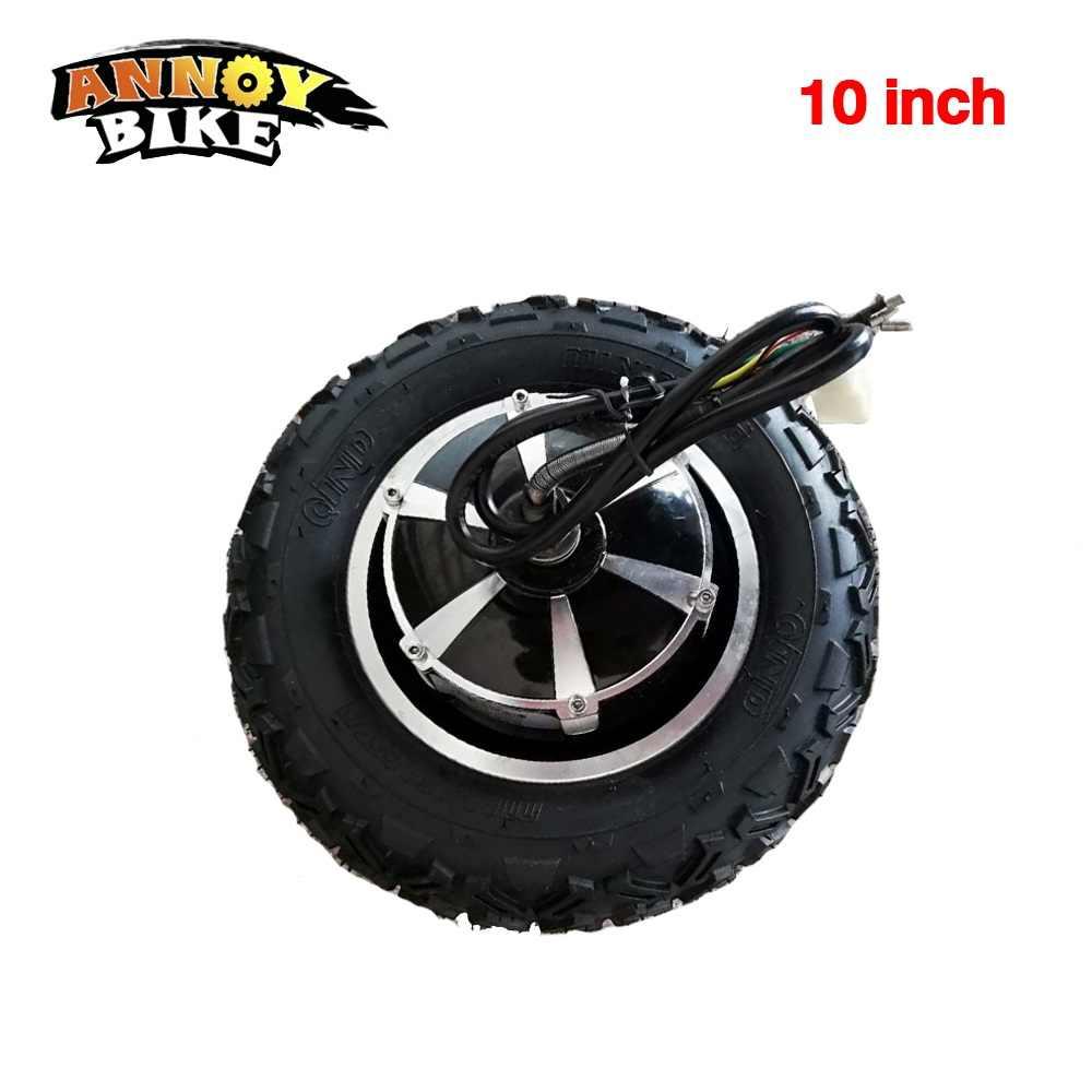 ハブモーターホイール 10 インチ電動一輪車自転車変換キット 11 インチly-cf高torqu 24V36V48V 300W350W500W800W