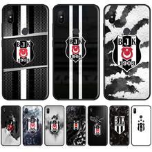 Turkey Besiktas Bling Cute Phone Case For Xiaomi Mi A1 A2 5 6 6PLUS 8 9 SE Lite MIX 2 2S MAX 2 3 Pocophone F1 lavaza comic schwarz punisher anime hard phone cover for xiaomi mi 8 a2 lite 9 se a1 max 3 f1 for redmi 7 go case