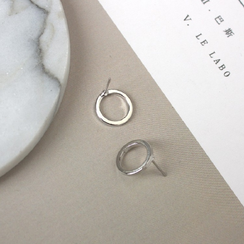 2020 Hot Sale Oorbellen Brincos E826 New Han Edition Fashion Temperament Geometric Small Circle Earrings With Metal Studs Model