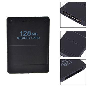 Czarny 8 16 32 64 128MB gra w karty pamięci Save Saver moduł danych Stick dla Sony PS2 PS dla Playstation 2 tanie i dobre opinie jingsha CN (pochodzenie) NONE playstation2 for Playstation 2
