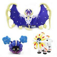 Original takara tomy pokemon cosmog solgaleo lunala pelúcia brinquedos anime figura de ação bonecas presentes natal das crianças