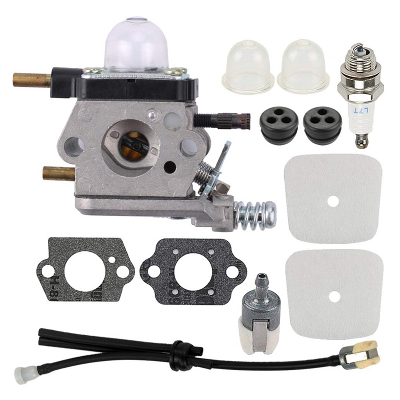 Carburetor Repower Kit For 2-Cycle Mantis 7222 7222E 7222M 7225 7230 7234 7240 7920 7924 Tiller/Cultivator  C1U-K54A C1U-K17