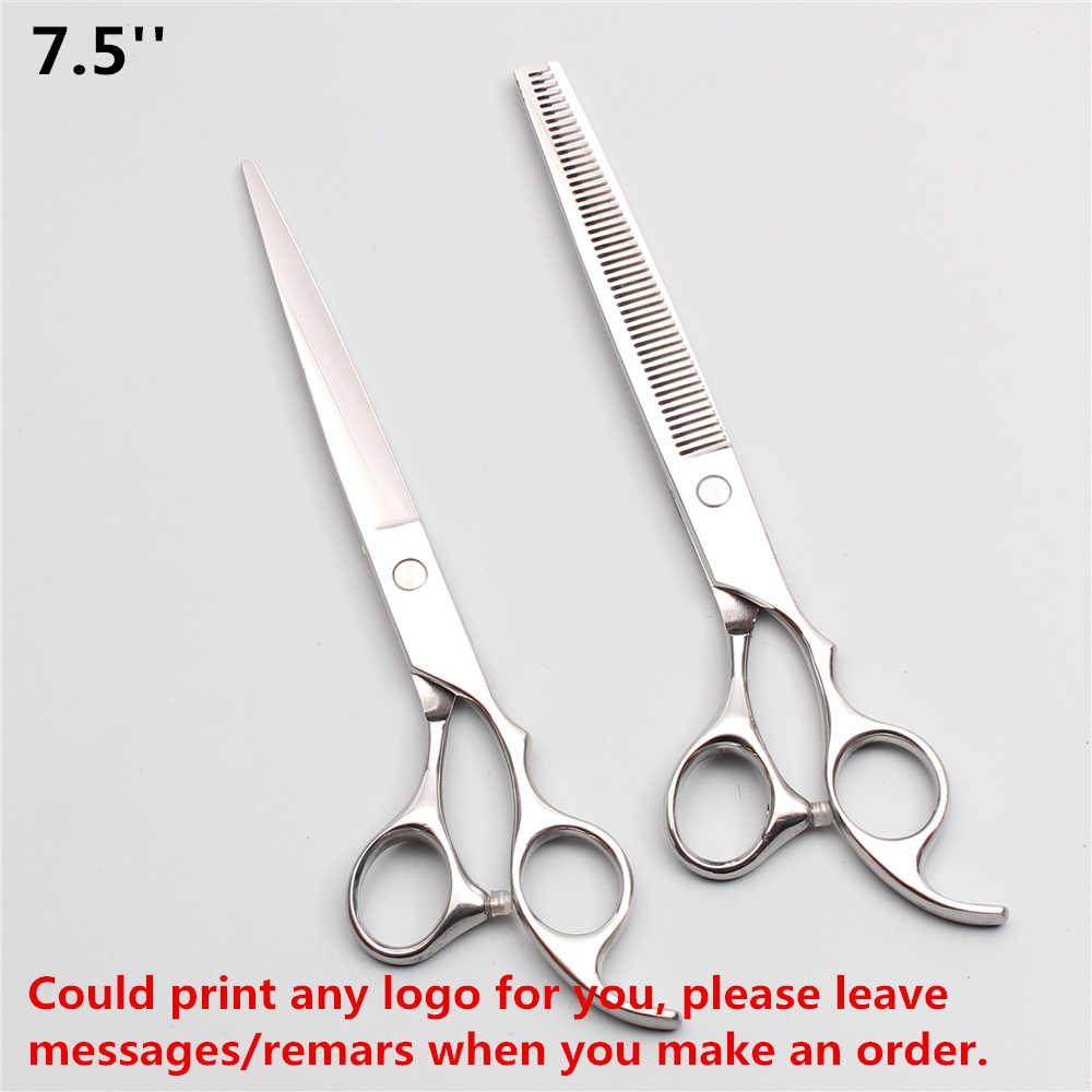 700# 5''/5,5''/6 ''/6,5''/7 ''/7,5''/8'' scissors hair tijeras de corte JP 440C tijeras de adelgazamiento tijeras de peluqueria professional barberia tijeras peluqueria sissors set