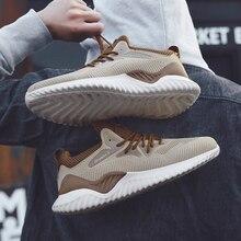 Men Sneakers durable Breathable Air Mesh Outdoor Sport Shoes Couple Cushion Flats Training Run Running Zapatos De Hombre R
