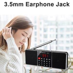 Image 5 - RETEKESS TR602 디지털 휴대용 AM FM 라디오 블루투스 스피커 AUX 스테레오 MP3 플레이어 TF/SD 카드 수면 타이머 USB 드라이브 LED 디스플레이
