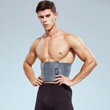 Регулируемый Магнит самонагревающийся спортивный поясной ремень для тела Фитнес для похудения тренировочный протектор бандаж для снятия боли в спине Спорт