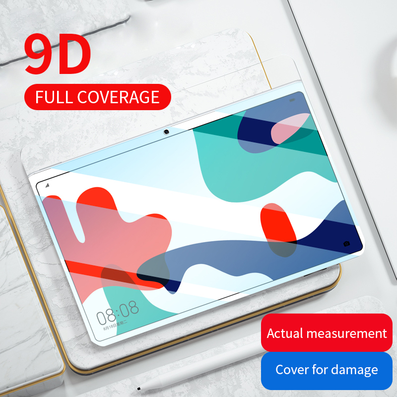 Vidro temperado para huawei t5 10 protetor de vidro tablet para mediapad m5 lite pro m6 10.8 8.4 m3 lite 10.1 8 t3 protetor de tela