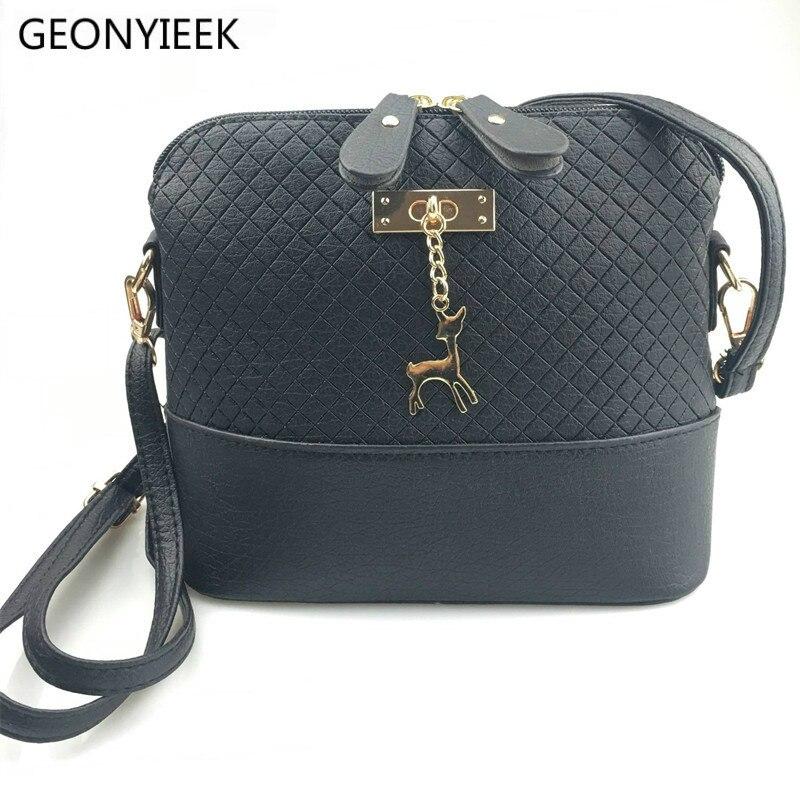 Luxury Handbags Women Bags Leather Designer 2020 Women Crossbody Shoulder Messenger Bags Shell Shape Lady Mini Bag With Deer Toy