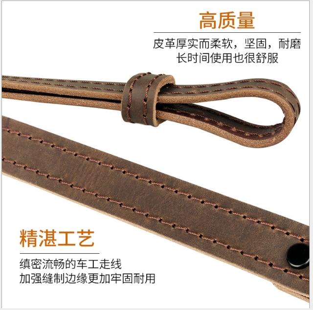 Hunting Rifle Gun Sling Tactical Genuine Leather Shoulder Strap for Shotgun Gun Accessories 2