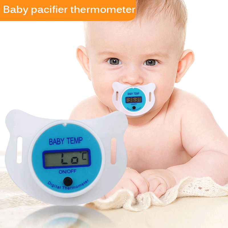 New Design Baby Nipple Thermometer Mouth Digital LCD Display Temp Temperature Measuring Tool  For Health Protection & For Family