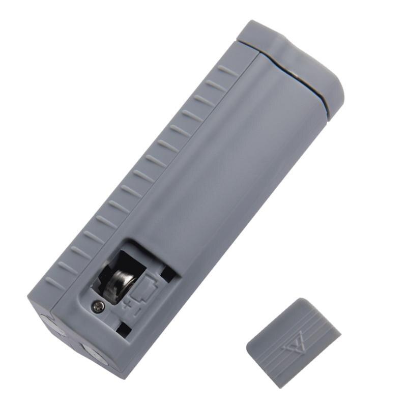 Купить с кэшбэком DishyKooker Battery Tester Digital Universal Battery Capacity Tester for AA/AAA/1.5V 9V Lithium