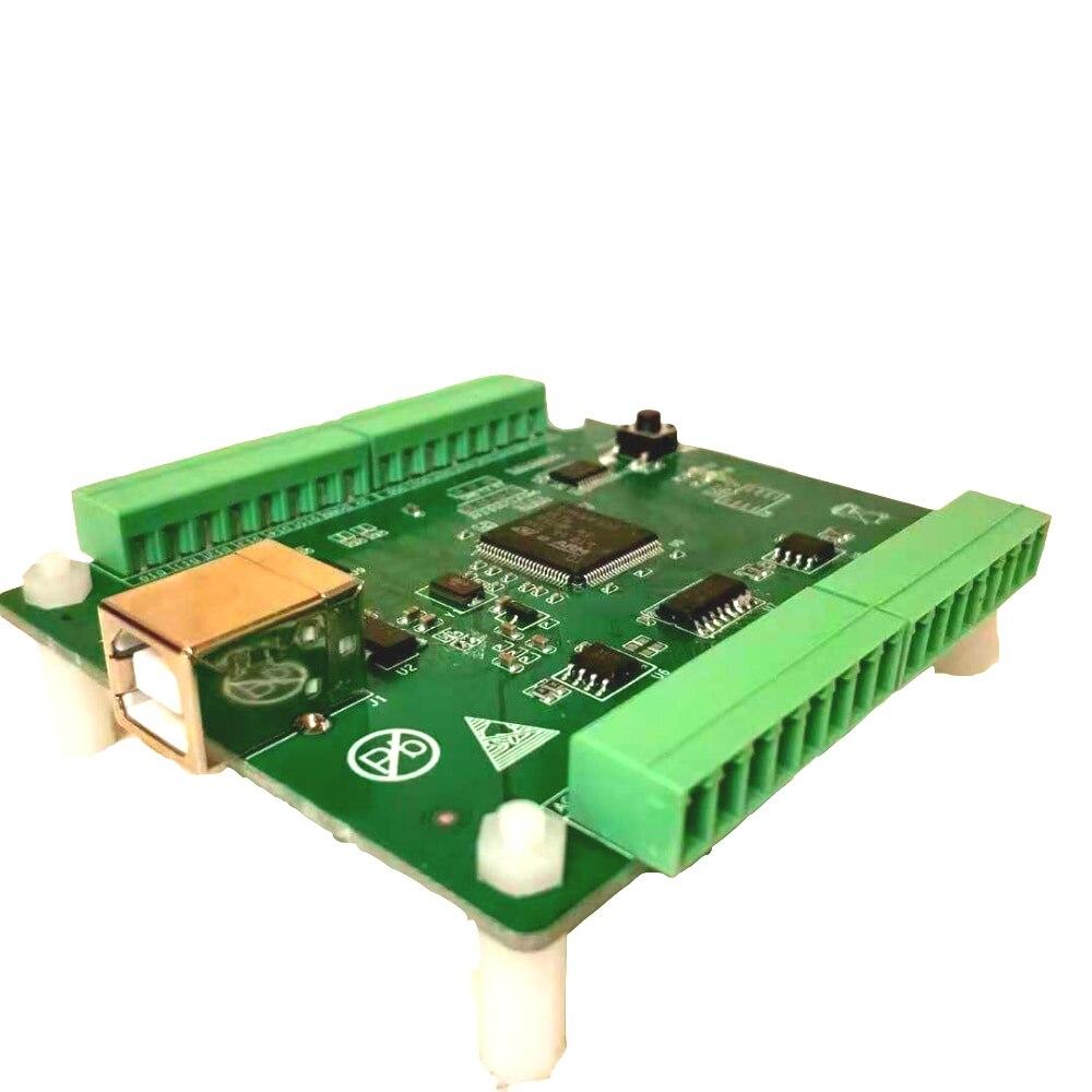 USB Data Acquisition Card 8 Way 12 Bit AD 2 Way 12 Bit DA 6 Way DIO Labview Python 3212