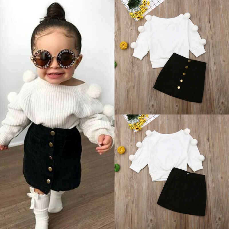 Kids clothes girls tracksuit set 2019 autumn children clothing set tops +pants 2pcs girls sport suits baby outfits