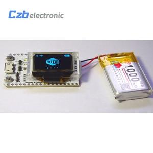 Image 4 - ESP32 0.96 inch Blue OLED Display Bluetooth WIFI Lora Kit 32 Module Internet Development Board For Arduino