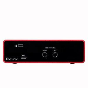 Image 3 - Interface de áudio focusrite scarlett, interface de áudio focusrite scarlett, nova versão solo de focusrite scarlett 3rd gen 2 2 entrada saída usb, & nbsp; placa de som para gravação