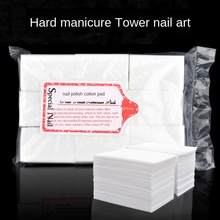 600/700pcs Gel Nail Polish Remover Pads For Manicure Soak Off Towel Nail Wipes Cotton Cleaning Varnish Nail Art Tools icosow 400 pcs make up cotton pads wipe pads nail art polish cleaning pads facial cosmetic cotton makeup remover clean tool