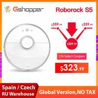 Roborock S50 S55 Xiaomi Vacuum Cleaner 2 Wet Dry Mijia APP Robot Mopping Sweeping Dust Sterilize Smart Planned Wash Mop