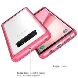 Image 5 - I BLASON Voor Samsung Galaxy Note 8 Case Halo Serie Anti Klop Krasbestendig Beschermende Tpu Bumper + Clear Back cover Case