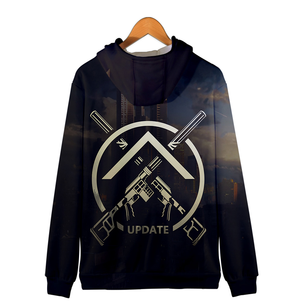 Escape from Tarkov 3D Zipper Hoodies Men Fashion Casual Hot Game Sweatshirt 3D Print Escape from Tarkov Zipper Hoodies Women 1