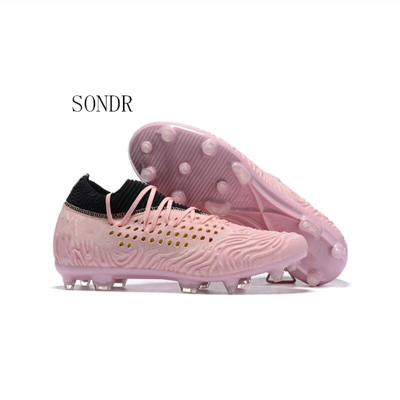 2020 NEW High Quality Indoor Breathable Cheap Men Soccer Shoes Original Kids Boys Football Boots Size 35-44 Scarpe Da Calcio