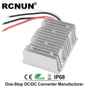 Image 4 - خطوة المتابعة تيار مستمر محول 12 فولت 24 فولت إلى 48 فولت 8A الجهد المنظم ، DC DC امدادات الطاقة دفعة وحدة RC124808 CE بنفايات RCNUN