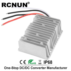 Image 4 - Повышающий преобразователь постоянного тока от 12 В, 24 В до 48 В, 8 А, стандартный модуль усиления источника питания RC124808 CE RoHS RCNUN