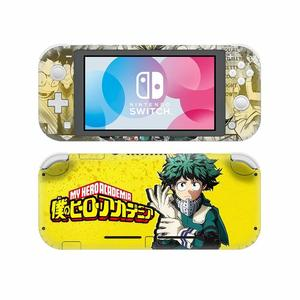 Image 3 - NintendoSwitch Skin Sticker My Hero Academia Decal Cover For Nintendo Switch Lite Protector Nintend Switch Lite Skin Sticker