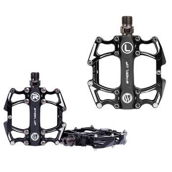 Pedales para bicicleta de montaña, de aleación de aluminio, antideslizantes, confort y agarre
