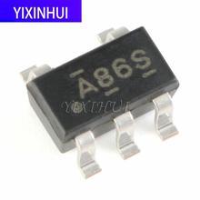 10 pces sn74ahc1g86dbvr selado sot-23-5 single-channel 2 entrada xor porta lógica chip integração eletrônica