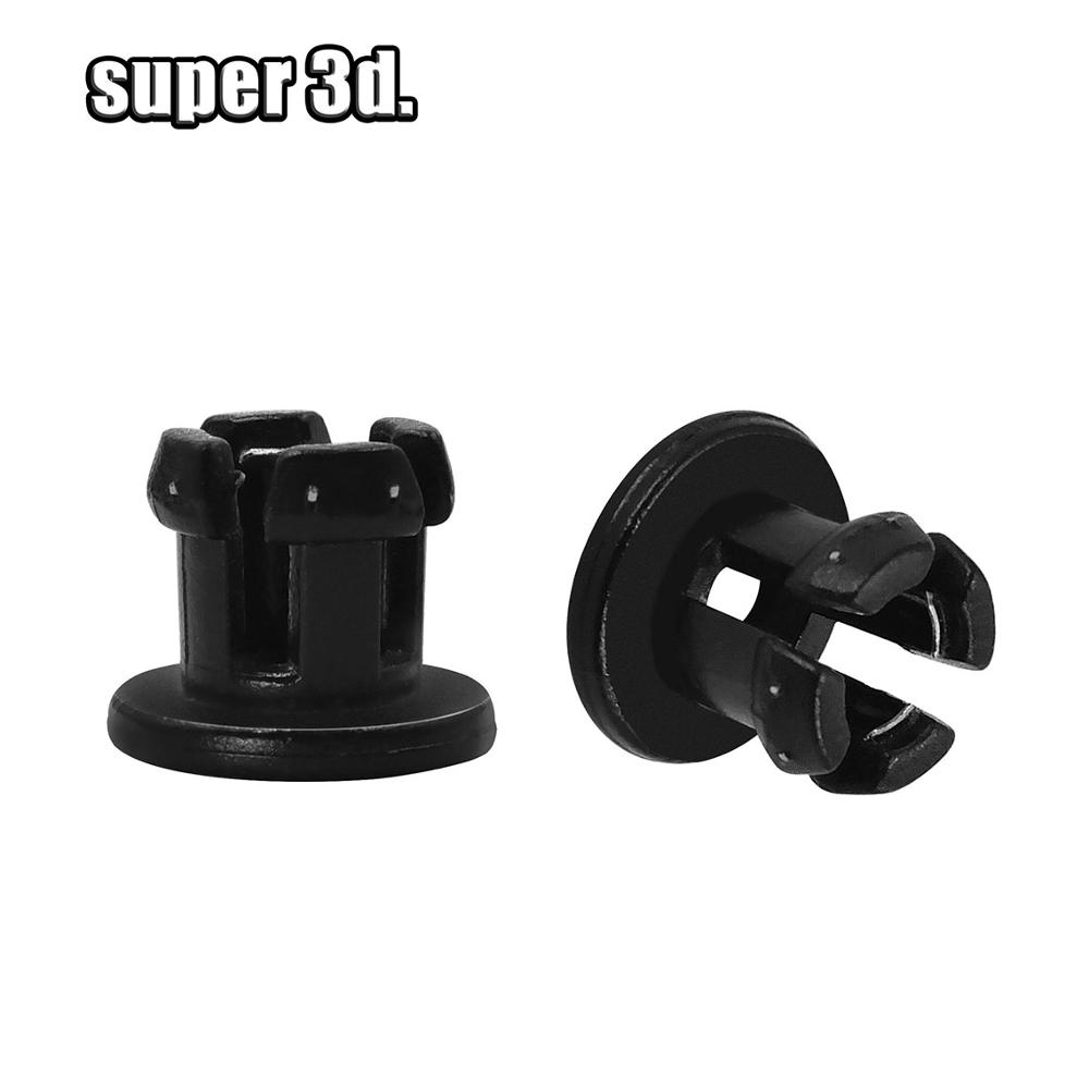 1/10pcs UM2 Quick Connector Bowden Tube Plastic Joint Fittings OD 4mm For Ultimaker 3D Printer Accessories 1.75mm Filament