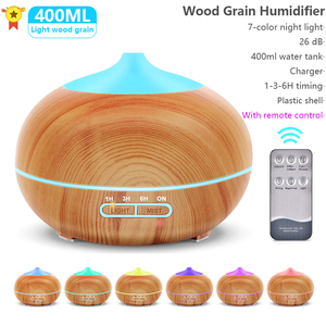 400ml Aroma Essential oil Diffuser Ultrasonic Air Humidifier Xiaomi Mijia Diffuser Electric With Remote Control Used for Home