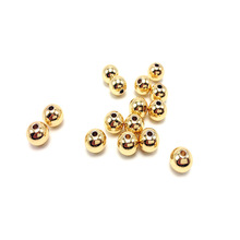 100pcs/lot 3 4 5 6 8mm Stainless Steel Gold Steel Tone Round Spacer Bead with1.5/2mm Hole DIY Beads for Jewelry Making Findings x royal 10pcs lot stainless steel diy jewelry making findings cross shape loose beads 5 8mm small hole gold rose gold metal bead