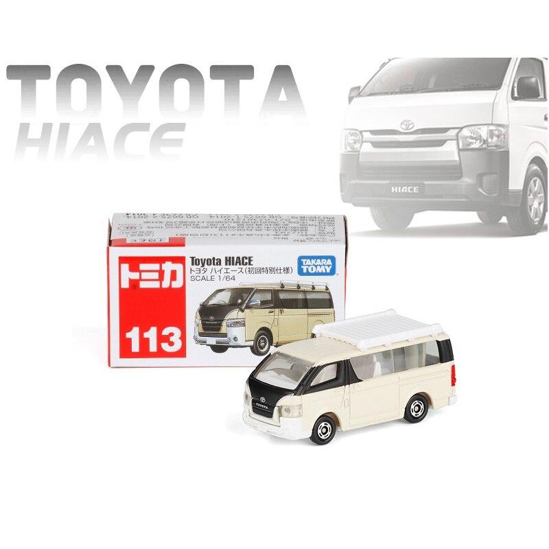 JAPAN TAKARA TOMY TOMICA 113 TOYOTA HIACE 1ST-BEIGE DIECAST CAR MODEL 102793