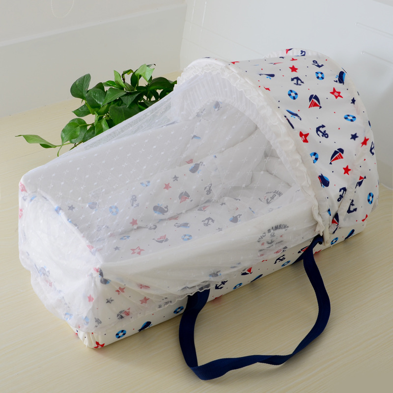 Portable Baby Cribs for Newborn Bed Travel Crib Portable Baby Cot Bebe Portable Foldable Newborn Cradle Outdoor Baby Crib