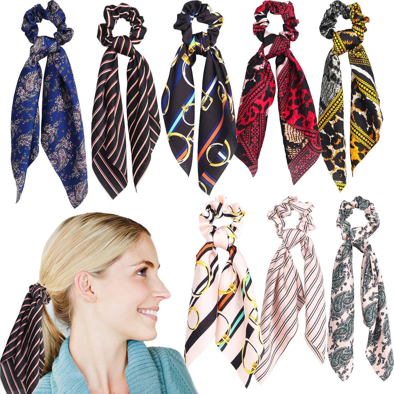 Flower Ponytail Scarf 100/% Silk Purse Bag Hat Hairtie Hairband Bag Accessories