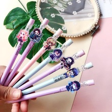 School-Supplies Pencil-Stationery Mechanical Anime Tanjirou-Erasable-Pen Demon 1PC Kamado